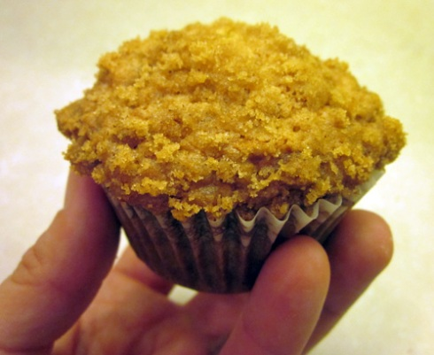 Banana Crumb Muffin